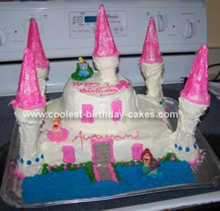 Castle Ice Cream Cake