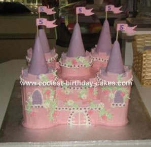 Sophie's Castle Cake
