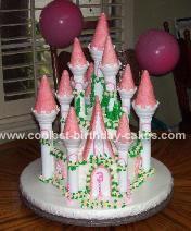 Kira's Castle Cake