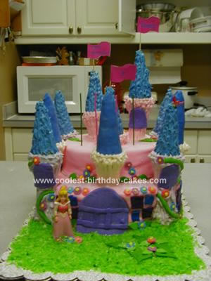 Homemade Castle Cake