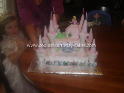 Coolest Castle Cake