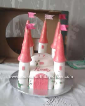 Homemade Castle Cake Idea