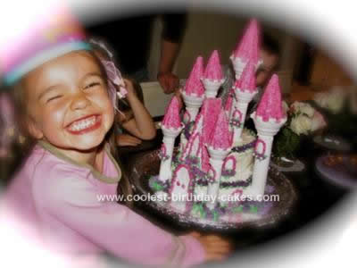 Homemade  Castle Cake Idea