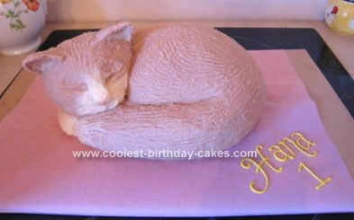 Coolest Cat Birthday Cake 63