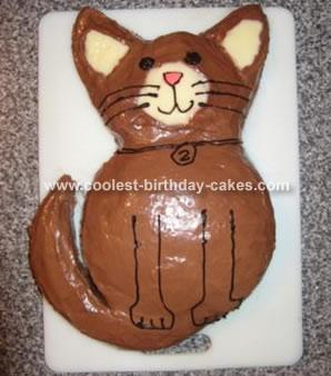 Adam's Cat Cake