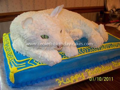 Coolest Cat Cake