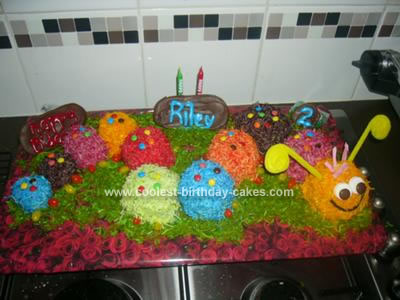 caterpillar cakes for kids. Caterpillar Birthday Cake