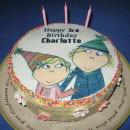 Charlie and Lola Birthday Cakes