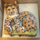 Cheetah Birthday Cakes