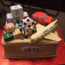 Assorted Toys Birthday Cakes