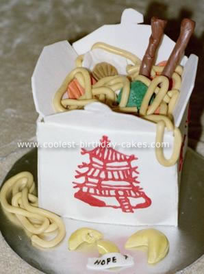 Coolest Chinese Food To Go Cake