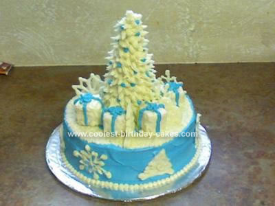 Homemade Christmas Holiday Cake