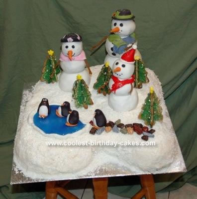 YUMMY CHRISTMAS CAKES!! Coolest-christmas-snow-cake-7-29046