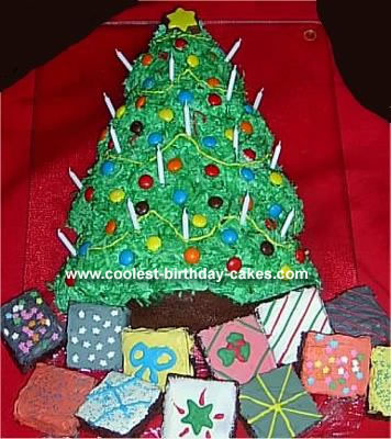 Christmas Birthday Cake Wallpaper