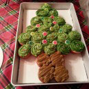 Christmas Tree Birthday Cakes
