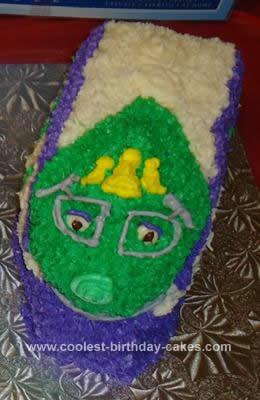 Homemade Chuggington Koko Cake