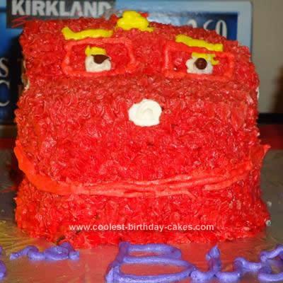 Homemade Chuggington Wilson Cake
