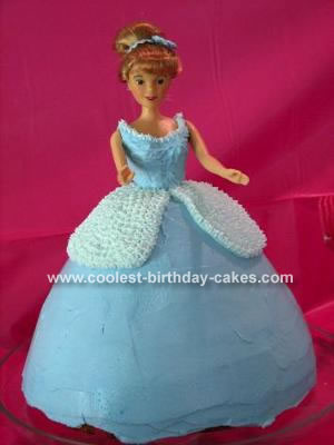 Cinderella Cake Pan Instructions
