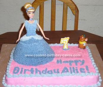 A Cinderella Cake for Allie