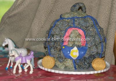 Coolest Cinderella Coach Cake