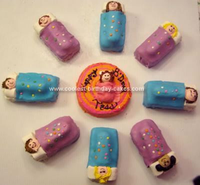 Pictures of Slumber Party Decorations http://www.coolest-birthday-cakes.com/coolest-circle-of-friends-slumber-party-cake-25.html