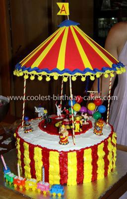 Coolest Circus Cake