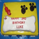 Dog Bones Birthday Cakes
