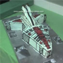 Clone Wars War Ship Birthday Cakes