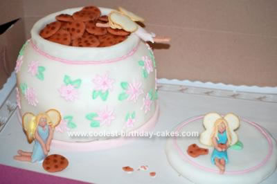 Homemade Cookie Stealing Fairy Cake