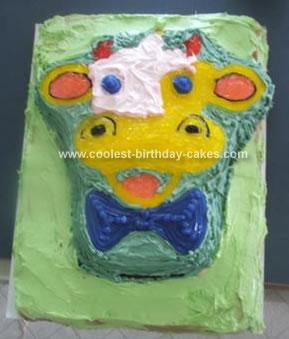 Homemade Cow Cake