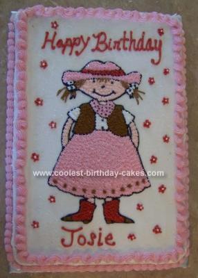 Homemade Cowgirl Cake