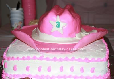 Cowgirl Cakebirthday Cake Girl Loves Horses