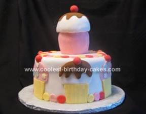 Homemade Cupcake with Cake