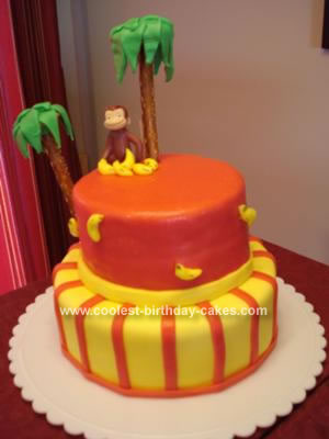 Curious George Birthday Cake on Coolest Curious George Birthday Cake 45 21354140 Jpg