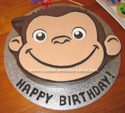 Curious George Cake Pan