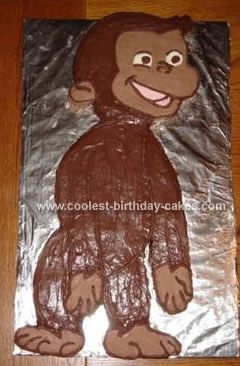 Curious George Birthday Cake on Coolest Curious George Cake 43
