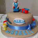 Construction Tools Birthday Cakes