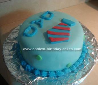 Homemade Dad Cake