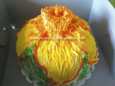 Homemade Daffodil Cake