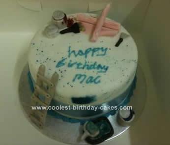 Homemade Decorator's Cake