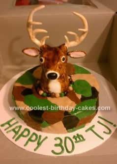 Homemade Deer Hunter Cake