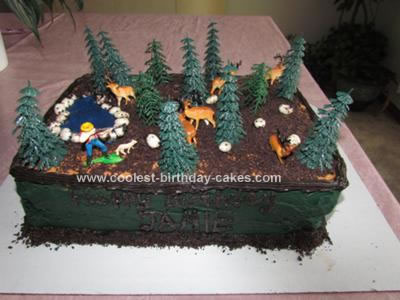 Coolest Deer Hunting Cake 2
