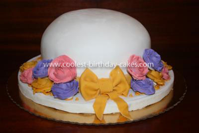 Coolest Derby Hat Cake