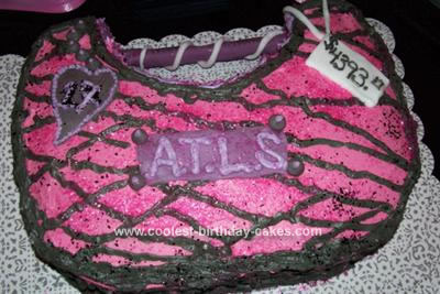 Homemade Designer Purse Cake