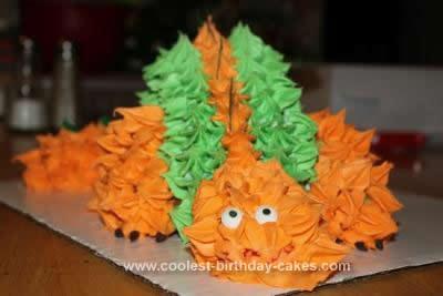 Homemade Dino Cake