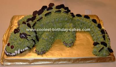 Sam's Dinosaur Cake