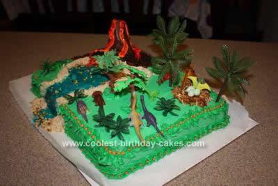 Jurassic Birthday Cakes 4