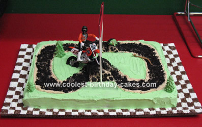 Homemade Birthday Cake on Coolest Dirt Bike Cake 2