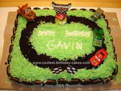 Sports Birthday Cakes on Coolest Disney Cars Cake 13