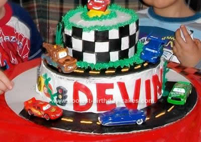 Disney Princess Birthday Cakes on Coolest Disney Cars Cake 39